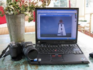 Digital Camera and computer